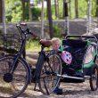 Remorque pour vélo enfants